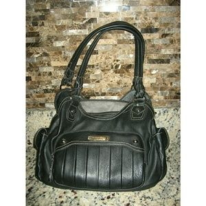 Black Rosetti Handbag NEW